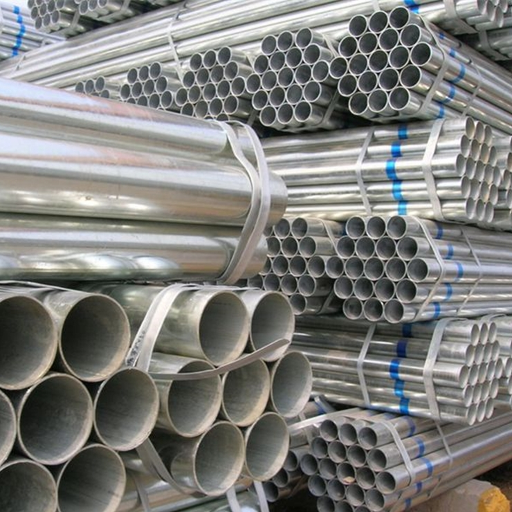 BS1387 galvanized welded steel pipes