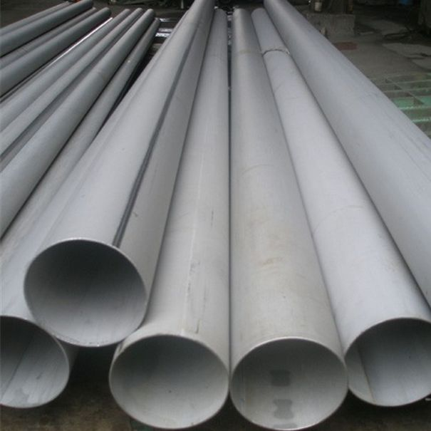 Welded steel pipe and stainless pipe